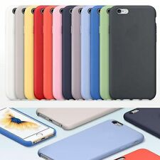 Ultra-Thin Genuine Silicone Leather Soft Case Cover For  iPhone 6/iPhone7/7Plus