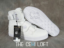 BRAND NEW Mens VLADO High Top Shoes Sneakers ATLAS 2 II White on White *FRESH*