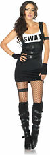 NEW Sultry SWAT Officer Adult Costume Fancy Dress Australian Seller,