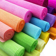 DIY Crepe Paper Wedding Birthday Party Supplies Decorations Paper Streamer Roll