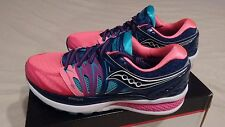Women's Saucony Hurricane ISO 2 Running Shoes Blue / Pink NEW