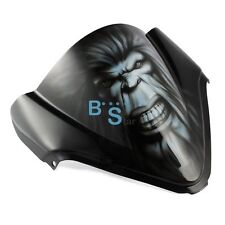 Airbrushed Ape Windscreen Windshield For Kawasaki Ninja ZX Fairing motorcycle