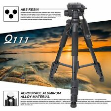 LOT Aluminum Alloy SLR Three Tripod with Ball Head Bag Travel for DSLR F5