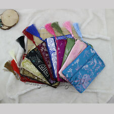 wholesale New Chinese style zipper  silk Jewelry  Coin Bags Purse Pouch