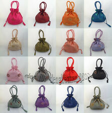 Wholesale Mix Colors Silk Embroidery Flower Jewelry Gift Bags Handbags