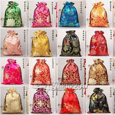 Wholesale 10 pcs Chinese Vintage Silk Cloth & Shoe Bag Pouch Wallet Purse