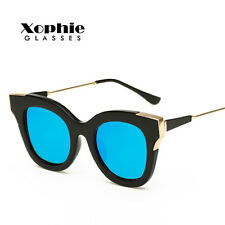 Fashion Womens Retro Designer Mirrored UV400 Sunglasses Glasses Eyewear Shades