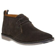 New Mens Superdry Brown Rallie Suede Boots Chukka Lace Up