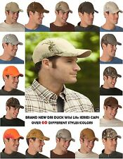 NEW DRI DUCK Men's Unisex Outdoor Wildlife Series Hunting Men's Caps Hats SALE