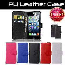 For Apple iPhone 4 4S Premium Wallet Stand Flip PU Leather Cover Case