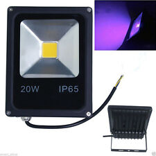 20W UV 365/375/385/395/405/415nm Leds Outdoor Floodlights Waterproof AC110-220V