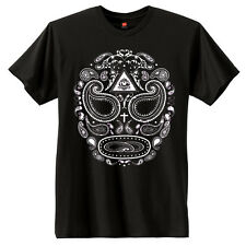 Paisley Day of the Dead Skull T-Shirt