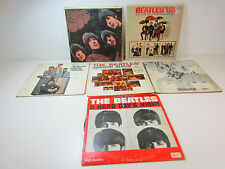 Lot Of Beatles Lp Records Capitol Revolver Rubber Soul Yesterday/today '65