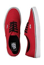 New- Vans Authentic Shoes. Chili Pepper, Red size 13