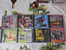 Great Lot of 8 Cds Oldies But Goodies Dick Clark American Bandstand compilations