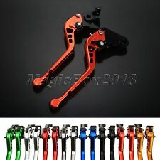 Motorcycle Aluminum CNC 3D Long Brake Clutch Levers For Yamaha YZF-R25 2014-2015