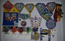 75th Anniversary Cub Scout Rank, Patch and Pin Collection