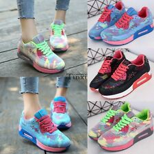 New Casual Sneakers Mesh Breathable Simple Comfort Women Sports Running Shoes