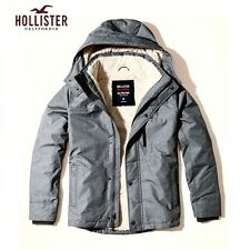 Men's HOLLISTER All-Weather Sherpa Lined Jacket BNWT Size Small RRP £89