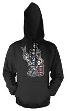BNWT BARBER SKATER CUT KNIFE SCISSOR SHAVE  HOODIE HOOD KIDS CHILDS  3-12 YRS