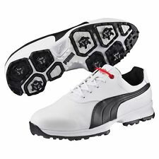 Puma Ace Golf Shoes White/Black/High Risk Red NEW 7940