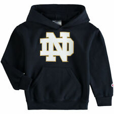 Notre Dame Fighting Irish Champion Youth Primary Logo Pullover Hoodie - NCAA