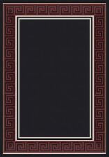 Dynamic Rugs Piazza Black/Red Area Rug