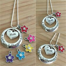 Personalised Gift Necklace for mum mummy nana sister nan - Mother's day Birthday