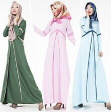 Women Muslim Long Dresses Islamic Abaya Kaftan Ladies Cocktail maxi dress New