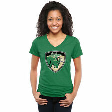 South Florida Bulls Women's Auxiliary Logo Tri-Blend V-Neck T-Shirt - NCAA