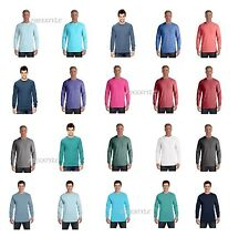 Comfort Colors 4410 Garment Dyed Heavyweight Ringspun Long Sleeve Pocket T-Shirt
