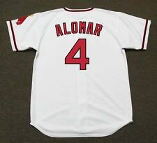 SANDY ALOMAR California Angels 1970 Majestic Cooperstown Home Baseball Jersey