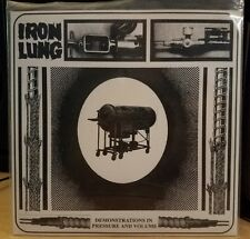 """IRON LUNG Demonstrations 7"""" Infest Spazz Rudimentary Peni Septic Death GISM DRI"""