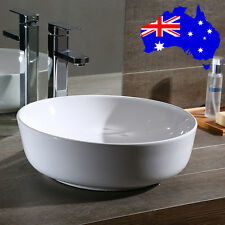 New Round Bathroom Vanity Ceramic Basin Sink Bowl Above Counter