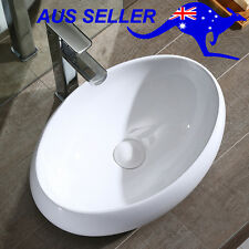 Above Counter Bathroom Vanity Basin Sink Elegant Unique Shape Bowl Ceramic White
