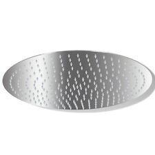 New Rain Shower Head Stainless Steel 30 cm Round Bathroom Overhead Wall Ceiling