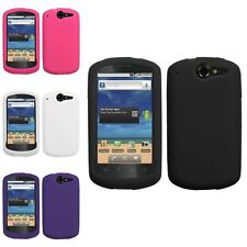 White/Black/Pink/Purple Silicone Skin Gel Case Cover For HUAWEI Impulse 4G U8800