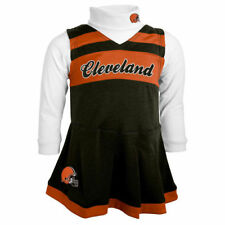 Cleveland Browns Outerstuff Toddler Cheer Jumper Dress Cheer - Brown