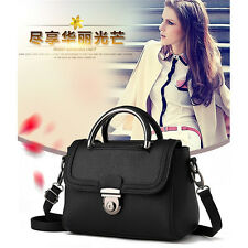 Lady PU Leather Satchel Handbags Cross body Shoulder Bag Tote Handbag Purse Bags