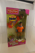 NEW Fisher Price Loving Family African American Brother Boy Skateboard Doll