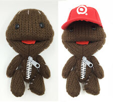 "6""inch Little Big Planet LBP 2 Cute sackboy Removeable Hat Plush Doll Toy New"