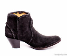BL1116-48-SS OLD GRINGO 'ADELA' BLACK SUEDE LEATHER ANKLE BOOT