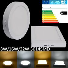 Slim LED Ceiling Panel Light Surface Mount Downlight Lamp Driver Bulited Non Dim