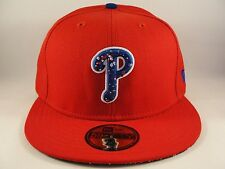 MLB Philadelphia Phillies New Era 59FIFTY Fitted Hat Cap DND Red