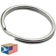500 LOT HEAVY DUTY SPLIT KEY RING 12mm/16mm/19mm/24mm/28mm/30mm/32mm/38mm/43mm