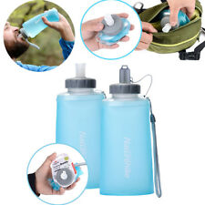 500/750ML Travel Kettle Cup Outdoor Portable Collapsible Drink Water Bottle