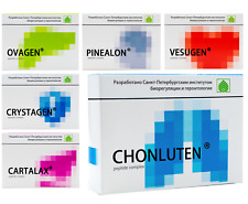 CYTOMAXES Peptide Bioregulators - 6 Variations, Vesugen, Cartalax, Ovagen