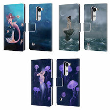 OFFICIAL RACHEL ANDERSON MERMAIDS LEATHER BOOK WALLET CASE COVER FOR LG PHONES 2