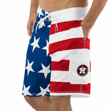 Houston Astros G-III Sports by Carl Banks Americana Swim Trunks - MLB