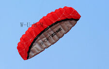 2.5m Outdoor Dual Line Parafoil Parachute Stunt Sport Beach Kite Easy to carry